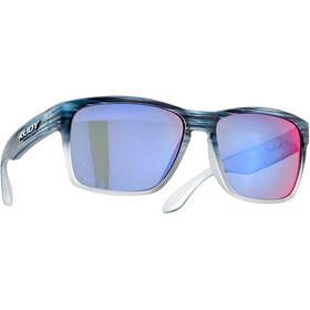 Rudy Project Spinhawk Glasses blue streaked matte - polar 3fx hdr multilaser red